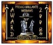 Premio Brillante webmws - award 2008