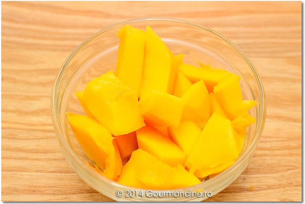 Suc de mango cu lapte