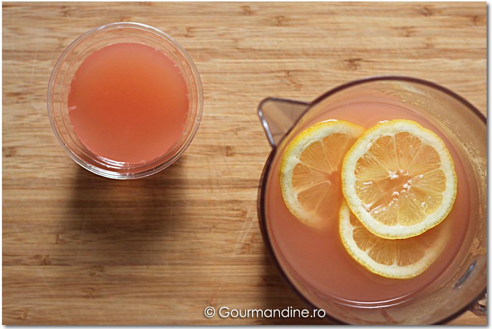 Suc din graperfruit cu lămâie